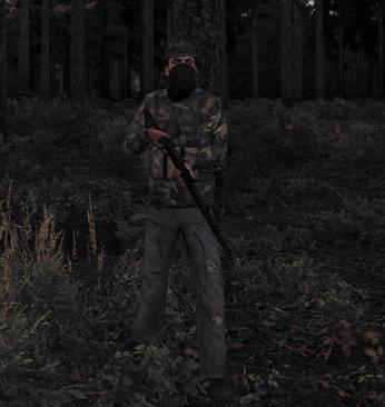 Woodland Bandit Clothing