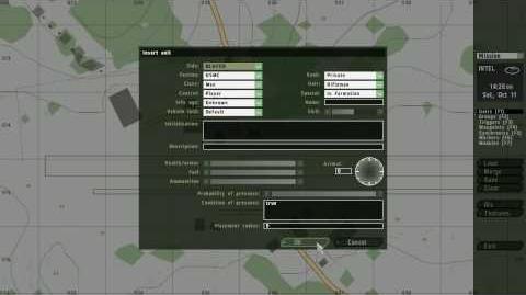 Arma 2 Editor Tutorial (1.Basic Controls)