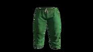 Green Medical Scrubs Pants Model (P-W)