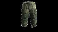 Flat Camouflage Gorka Military Pants Model (P-W)