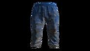 Light Blue Tracksuit Pants Model (D-BD)