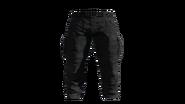 Black Cargo Pants Model (P-W)