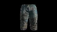 Blue Medical Scrubs Pants Model (R)