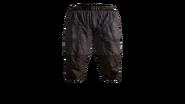 Canvas Pants Short (Violet) Model (P-W)