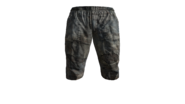 Canvas Pants Short (Blue) Model (R)