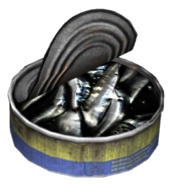 Canned Sardines (Open)