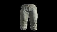 White Medical Scrubs Pants Model (P-W)
