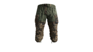 Autumn Camouflage Gorka Military Pants Model (P-W)