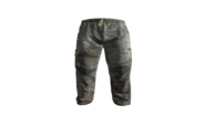 White Medical Scrubs Pants Model (R)