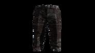 Brown Slacks Pants Model (D-BD)