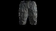 Canvas Pants Short (Blue) Model (D-BD)