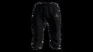 Black Tracksuit Pants Model (P-W)