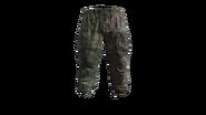 Flat Camouflage Gorka Military Pants Model (R)