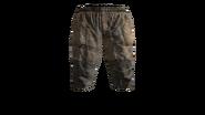 Canvas Pants Short (Beige) Model (D-BD)