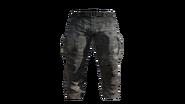 Grey Cargo Pants Model (R)