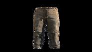 Leather Pants Natural Model (D-BD)