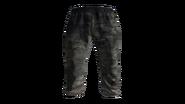 Black Tracksuit Pants Model (D-BD)