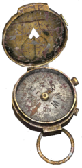 Compass (damaged)