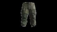 Flat Camouflage Gorka Military Pants Model (D-BD)