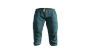 Blue Medical Scrubs Pants Model (P-W)