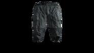 Canvas Pants Short (Blue) Model (P-W)
