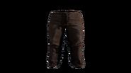 Leather Pants Black Model (P-W)