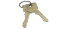 Handcuff keys