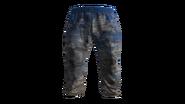 Light Blue Tracksuit Pants Model (R)