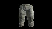 White Medical Scrubs Pants Model (D-BD)