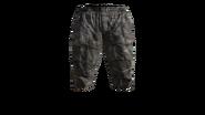 Canvas Pants Short (Violet) Model (R)