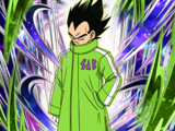 Covered in the Cold Vegeta
