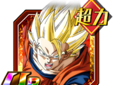 Clash and Strikes Beyond Comprehension Super Saiyan 2 Goku