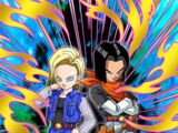 Double Terror of the Future Android 17 (Future) & Android 18 (Future)