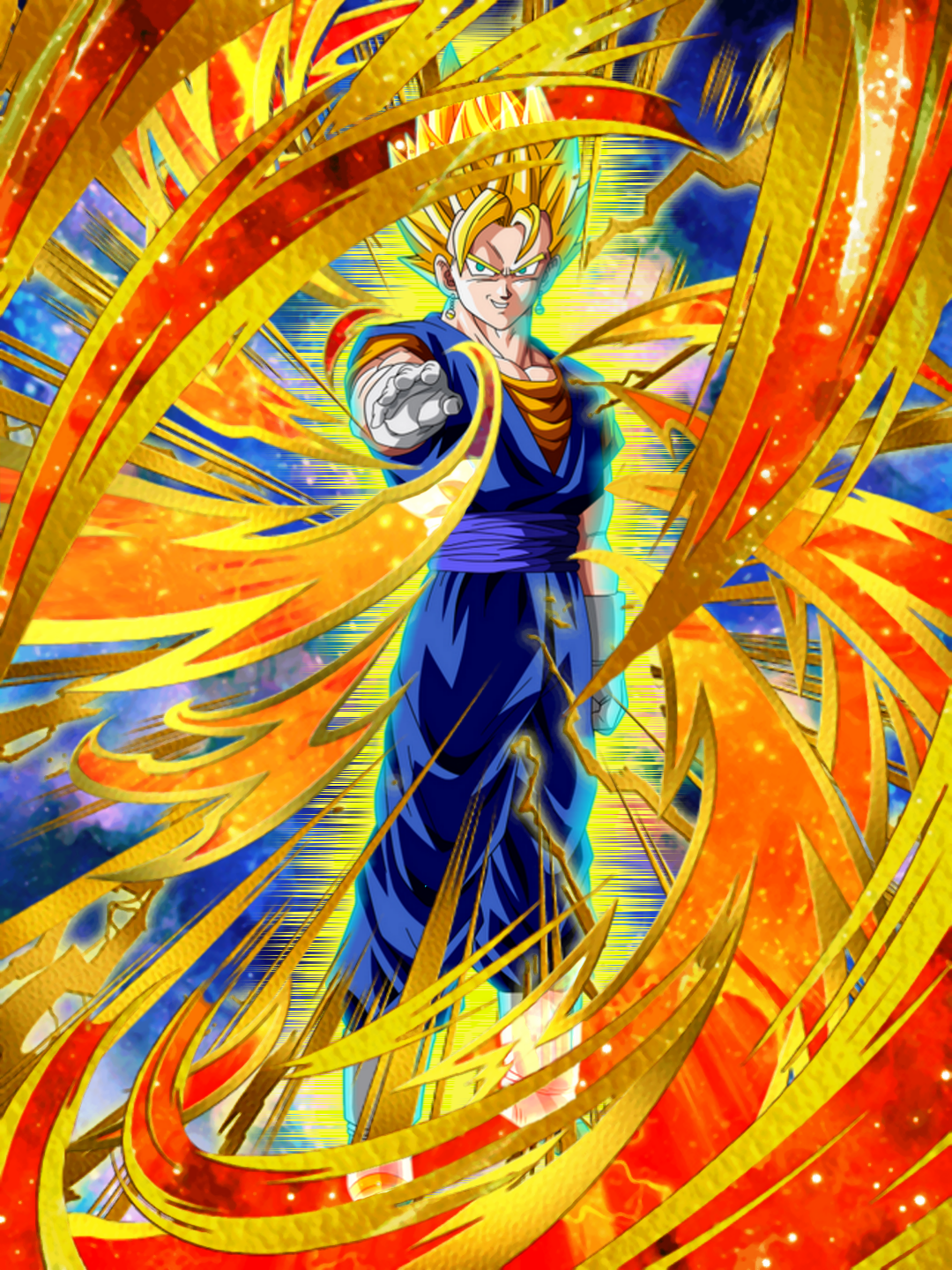 By Photo Congress || Lr Vegito Blue Dokkan Wiki