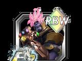 The Number 1 Victor Thanos (Fortnite) (Super Saiyan Rose)
