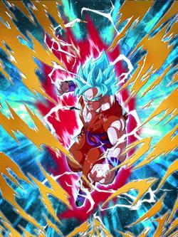 Goku B Kx10 card fake