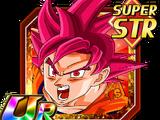 Power of Six Saiyans Super Saiyan God Goku