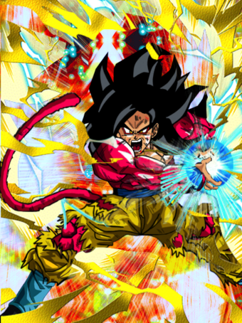 Goku SSJ4 fake card