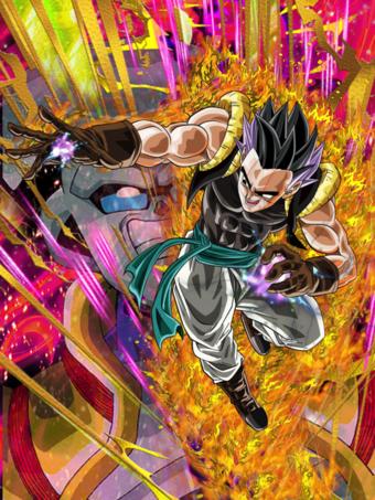 Fake Gotenks posesssed card