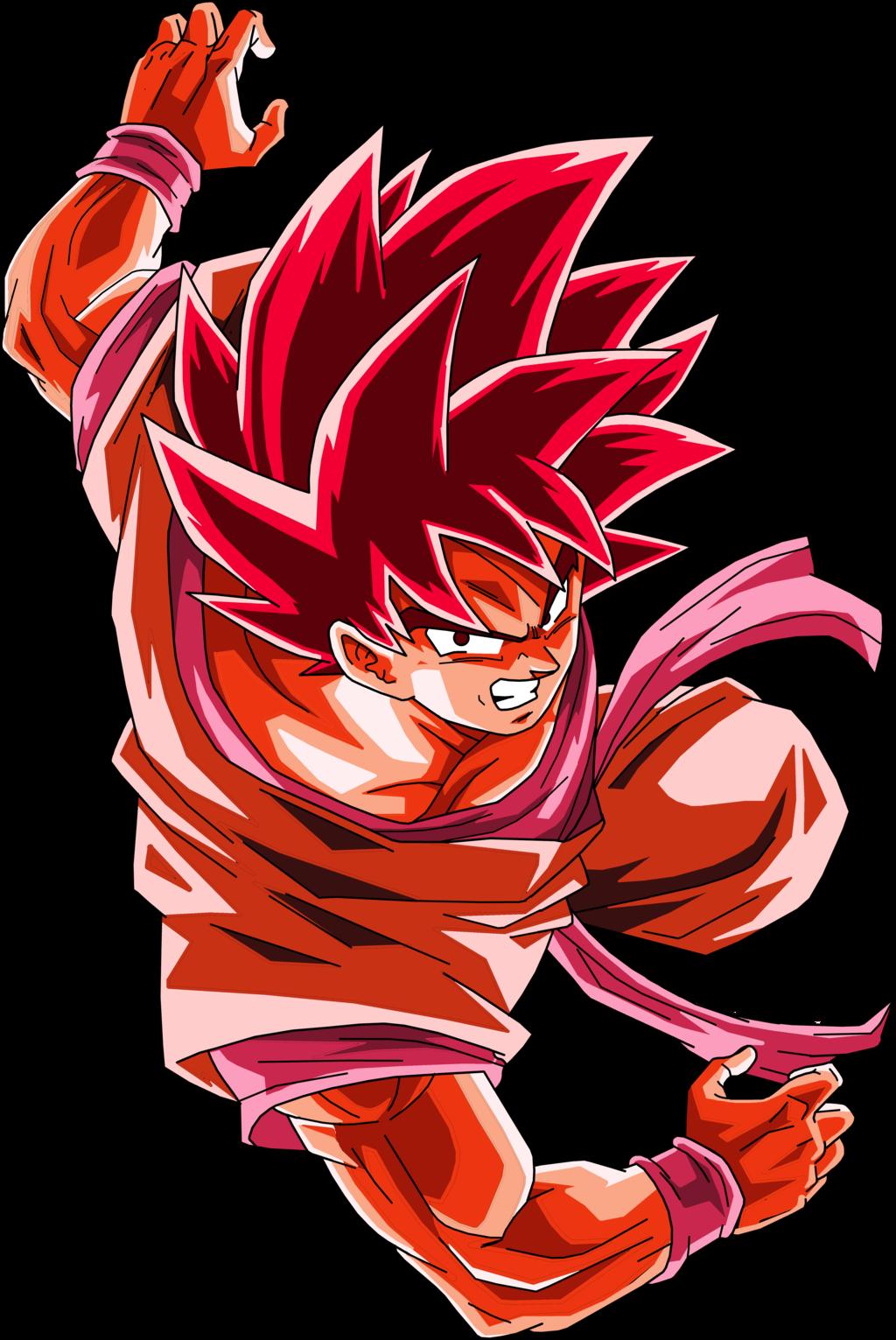 Crimson Ace In The Hole Full Power Kaioken X20 Goku Db