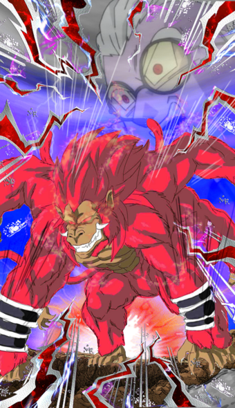 Fake fu ultimate ape card