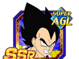 Three Star Spirit Vegeta (Good), Krillin, and Gohan