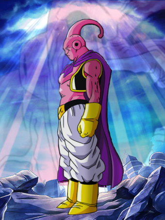 Fake good super buu card