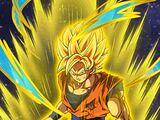 Light of Earth Super Saiyan Goku