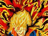 Atrocious Mad Aura Super Saiyan 2 Goku