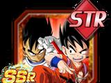 Transcendent Toddlers Goku(Youth) & Vegeta(Youth)