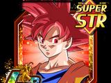 Crimson Confidence Super Saiyan God Goku