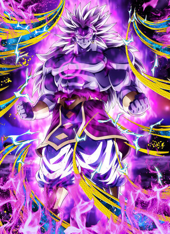 Fake Broly of destruction card