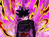 A Real God of Madness Goku Black (God of Destruction Mode)