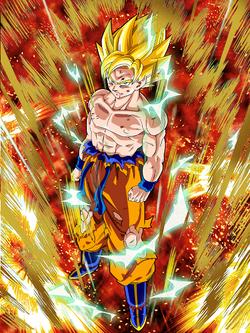 GentFake-Furious Counterattack Super Saiyan Goku